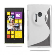 Прозрачный силиконовый чехол для Nokia Lumia 1020
