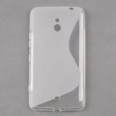 Прозрачный силиконовый чехол для Nokia Lumia 1320