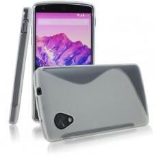 Прозрачный силиконовый чехол для LG Nexus 5