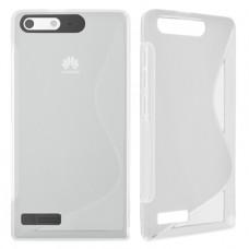 Прозрачный силиконовый чехол для Huawei Ascend G6