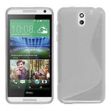 Прозрачный силиконовый чехол для HTC Desire 610