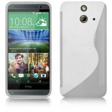 Прозрачный силиконовый чехол для HTC One (E8)