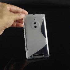 Прозрачный силиконовый чехол для Nokia Lumia 830