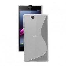 Прозрачный силиконовый чехол для Sony Xperia Z Ultra