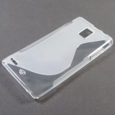 Прозрачный силиконовый чехол для Huawei Ascend P1