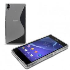 Прозрачный силиконовый чехол для Sony Xperia Z2