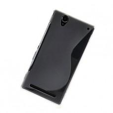 Прозрачный силиконовый чехол для Sony Xperia T2 Ultra