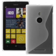 Прозрачный силиконовый чехол для Nokia Lumia 925