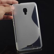 Прозрачный силиконовый чехол для Huawei Ascend Mate 2 4G