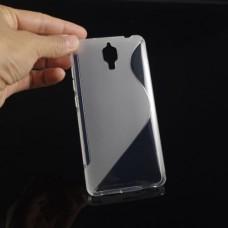 Прозрачный силиконовый чехол для Xiaomi mi4
