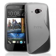 Прозрачный силиконовый чехол для HTC Desire 601