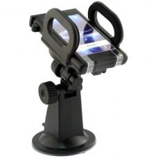 Держатель для смартфона на лобовое стекло Prolife (короткий)