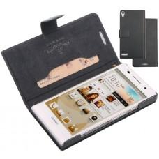 Чехол книжка (DoorMoon) для Huawei Ascend P6