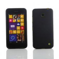 Черный силиконовый чехол для Nokia Lumia 630/635