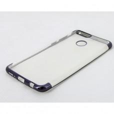 Прозрачный силиконовый чехол для Huawei Honor 7x