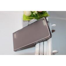 Черный силиконовый чехол для Huawei Ascend P6