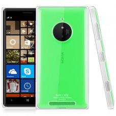 Прозрачный пластиковый чехол для Nokia Lumia 830 (Imak)