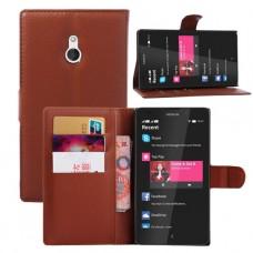Красный чехол книжка для Nokia XL