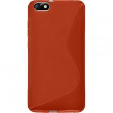 Красный силиконовый чехол для Huawei Honor 4X