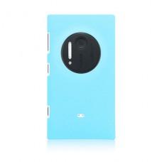 Голубой пластиковый чехол для Nokia Lumia 1020