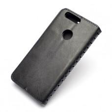 Чехол-книжка для Huawei Honor 8 с визитницей черный