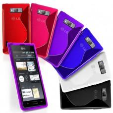 Силиконовый чехол для LG Optimus L7 Multicolor