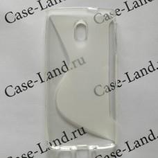 Прозрачный силиконовый чехол для Nokia 3