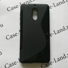 Черный силиконовый чехол для Nokia 6
