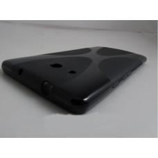 Черный силиконовый чехол для Huawei Ascend Mate