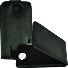 Черный чехол книжка для HTC One X/One X+