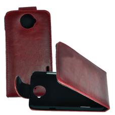 Коричневый кожаный чехол для HTC One X/One X+