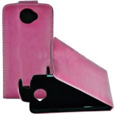 Розовый чехол книжка для HTC One X/One X+
