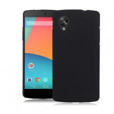 Черный пластиковый чехол для LG Nexus 5