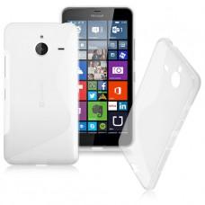 Прозрачный силиконовый чехол для Nokia Lumia 640XL