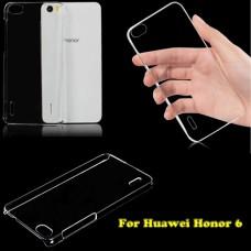 Прозрачный пластиковый чехол для Huawei Honor 6