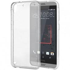 Прозрачный силиконовый чехол для HTC Desire 530