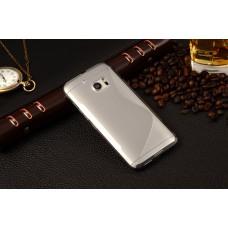 Прозрачный силиконовый чехол для HTC 10