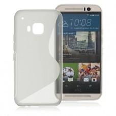 Прозрачный силиконовый чехол для HTC One m9