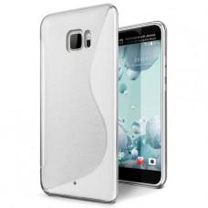 Прозрачный силиконовый чехол для HTC U Ultra