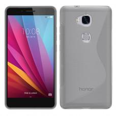Прозрачный силиконовый чехол для Huawei Honor 5x