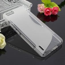 Прозрачный силиконовый чехол для Huawei Honor 6 plus