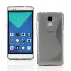 Прозрачный силиконовый чехол для Huawei Honor 7