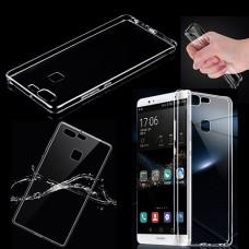 Прозрачный силиконовый чехол для Huawei P9 Lite