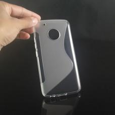 Прозрачный силиконовый чехол для Lenovo Moto G5 Plus