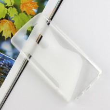 Прозрачный силиконовый чехол для LG G4 Pro