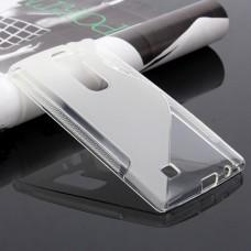 Прозрачный силиконовый чехол для LG Magna