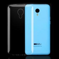 Прозрачный силиконовый чехол для Meizu M1 Note