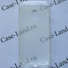 Прозрачный силиконовый чехол для Meizu M5s