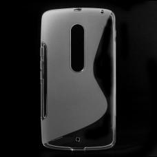 Прозрачный силиконовый чехол для Moto X Play