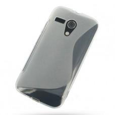 Прозрачный силиконовый чехол для Motolola Moto G dvx